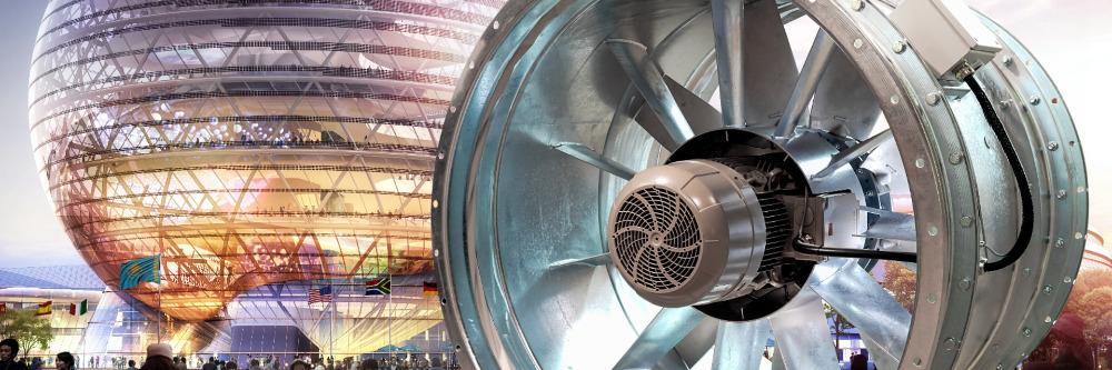 Légtechnika axiál ventilátor